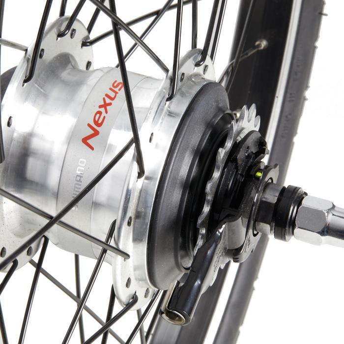 roue pliant 20 ar nexus 7V noir
