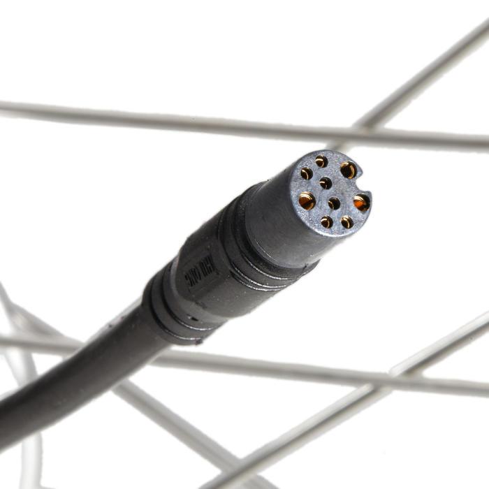 Voorwiel voor elektrische stadsfiets B900/Elops 900 zwart 36V