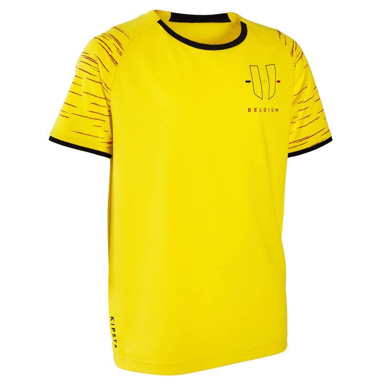 BELGICKÝ NÁRODNÍ TÝM Fotbal - DRES FF100 BELGIE KIPSTA - Fotbalové oblečení