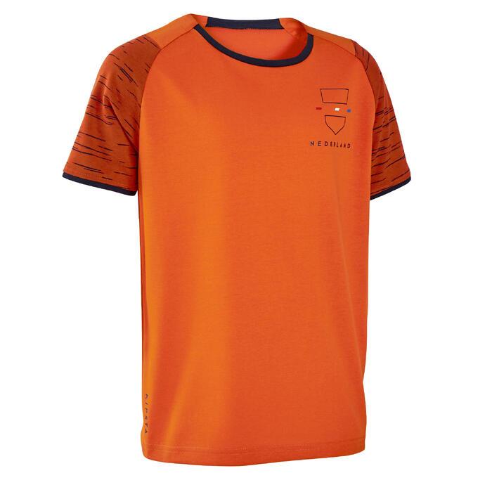 兒童款足球上衣FF100- 荷蘭隊