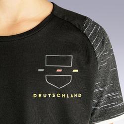 Duitsland voetbalshirt FF100 kind supportershirt EK 2020 zwart