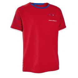 T-shirt de Futebol FF100 Criança República Checa