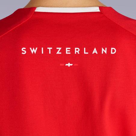 Kids' Football T-Shirt FF100 - Switzerland