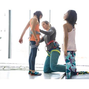 Klimlegging stretch voor meisjes stormgrijs
