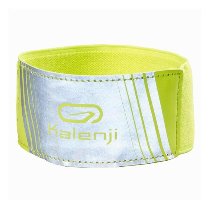 Veiligheidsarmband voor hardlopen geel