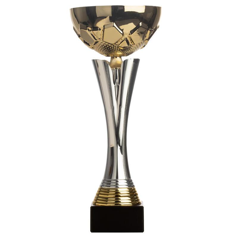 Beker C535 goud/zilver 32 cm