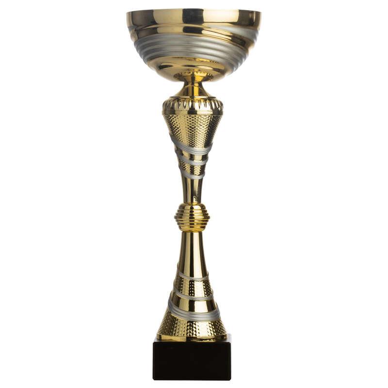 SPORTOVNÍ CENY Fotbal - POHÁR C545 ZLATO-STŘÍBRNÝ 38CM WORKSHOP - Vybavení pro hráče a kluby