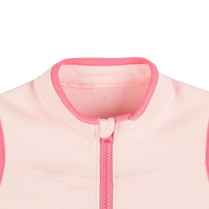 女童與男童無袖嬰幼兒體能活動外套500 - 粉色