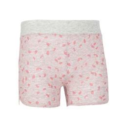 Baby Gym Shorts 500 - Grey