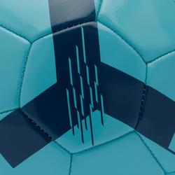Bola de Futebol F100 tamanho 3 < 8 anos) azul