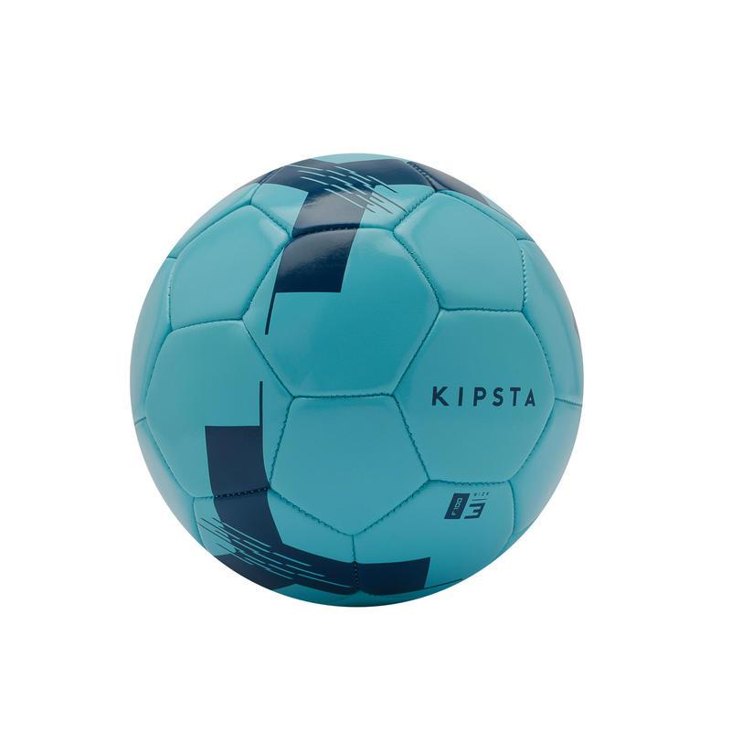 Voetbal F100 maat 3 (jonger dan 8 jaar) blauw