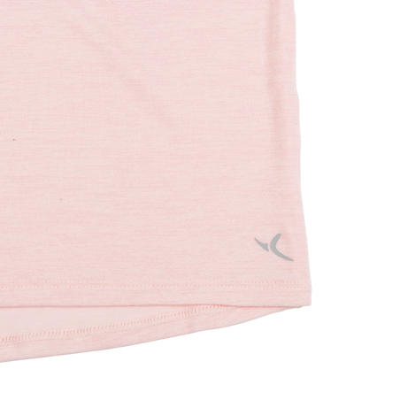 Girls' and Boys' Baby Gym Tank Top 500 - Pink/Blue