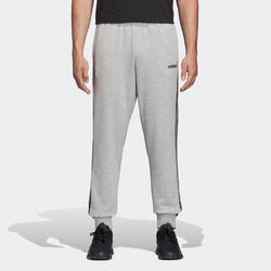Pantalon de survetement Adidas Homme 3 bandes Gris