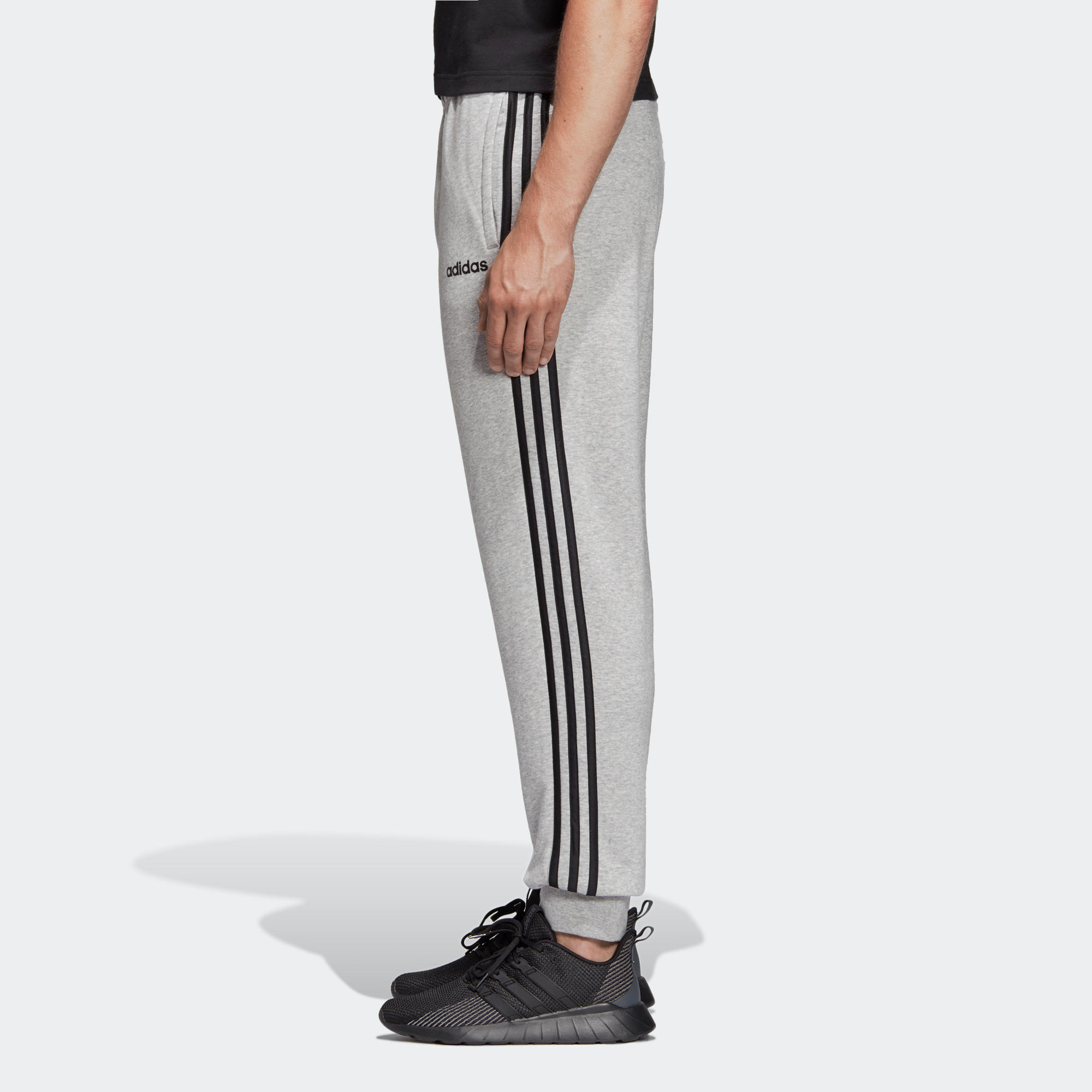 pantalon survetement homme adidas gris