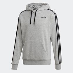 Sudadera con capucha Adidas 3 franjas gris