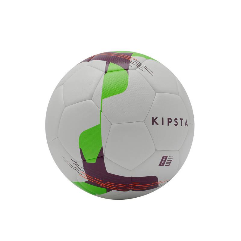 FOTBALOVÉ MÍČE Fotbal - MÍČ F500 HYBRIDE VEL. 3 BÍLÝ KIPSTA - Fotbalové míče a branky