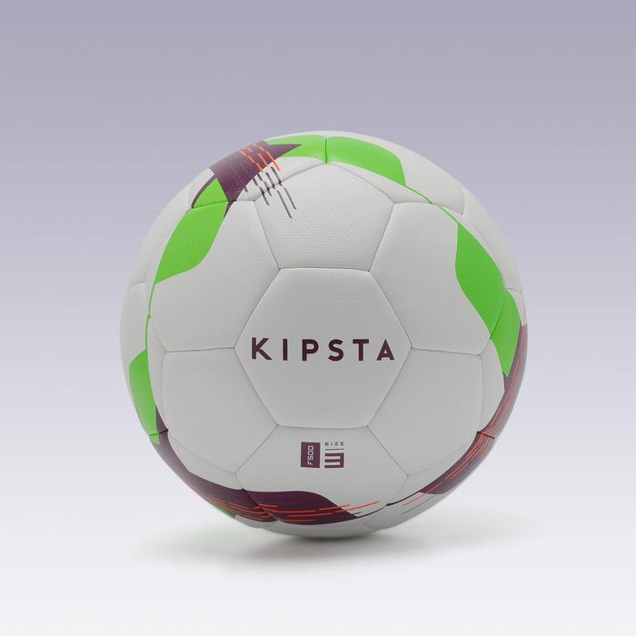 Ballon de football F500 hybride taille 3 blanc