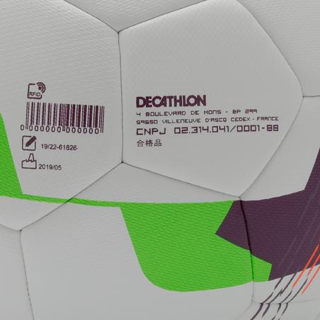 Гібридний м'яч F500, розмір 3 - білий