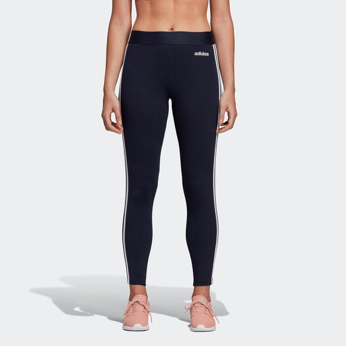 Legging 3-stripes voor dames blauw