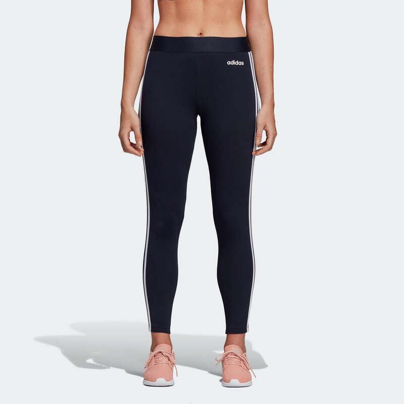 T-SHIRT, LEGGINGS, SHORT DONNA Ginnastica, Pilates - Leggings Adidas donna blu ADIDAS - Abbigliamento donna