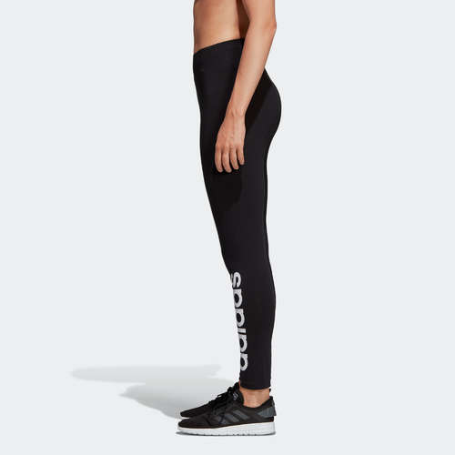 Adidas Women S Slim Fit Leggings Black Print Decathlon