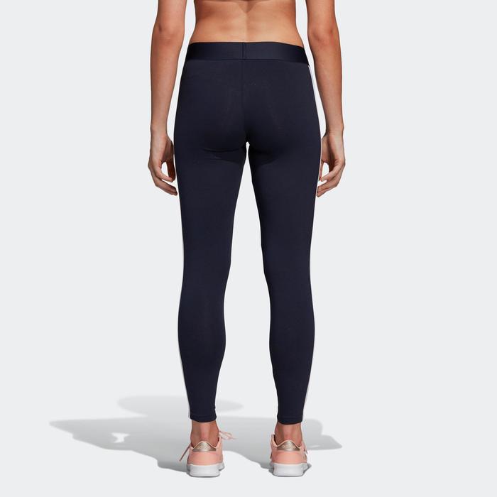 Sportlegging dames Adidas 3-stripes voor dames blauw