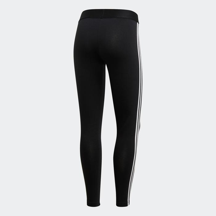 Legging Adidas 3 Bandes Slim Femme Noir