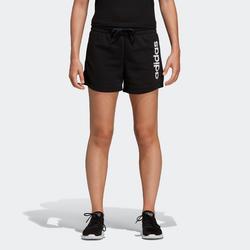 Short voor dames zwart/opdruk
