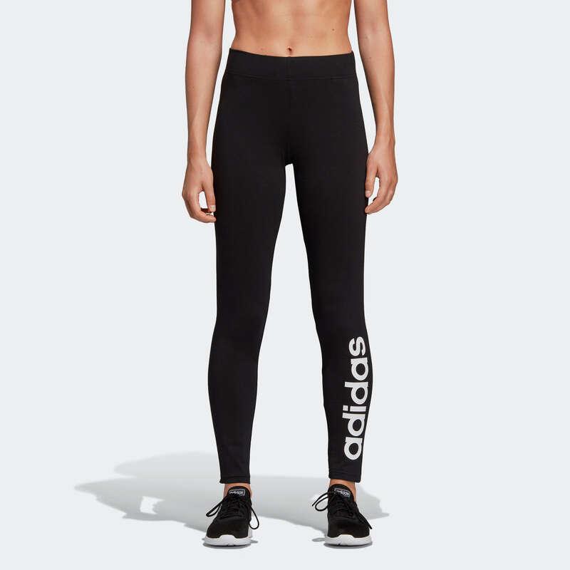 T-SHIRT, LEGGINGS, SHORT DONNA Ginnastica, Pilates - Leggings Adidas donna neri ADIDAS - Abbigliamento donna