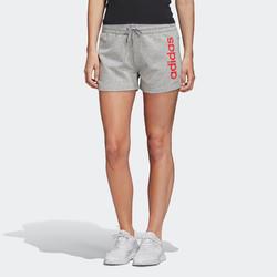 Short Adidas Femme Gris et Rose