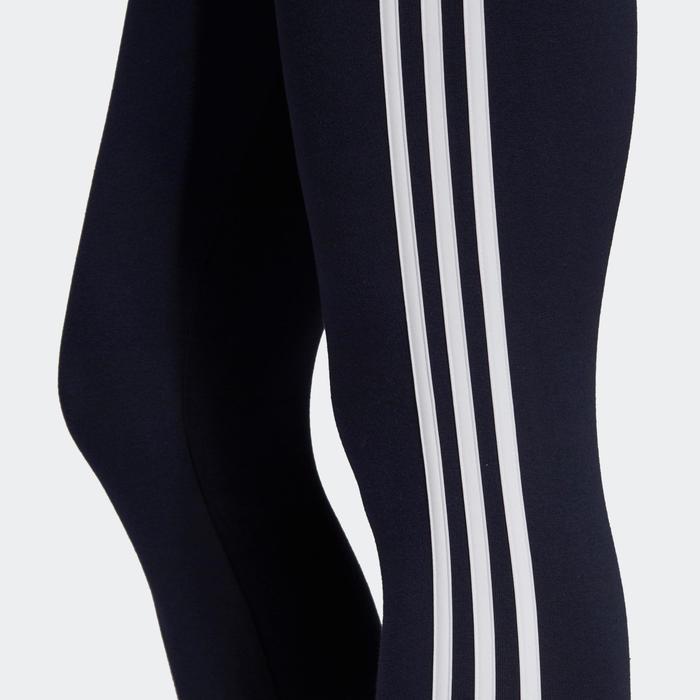 Legging Adidas 3 Bandes Femme Bleu