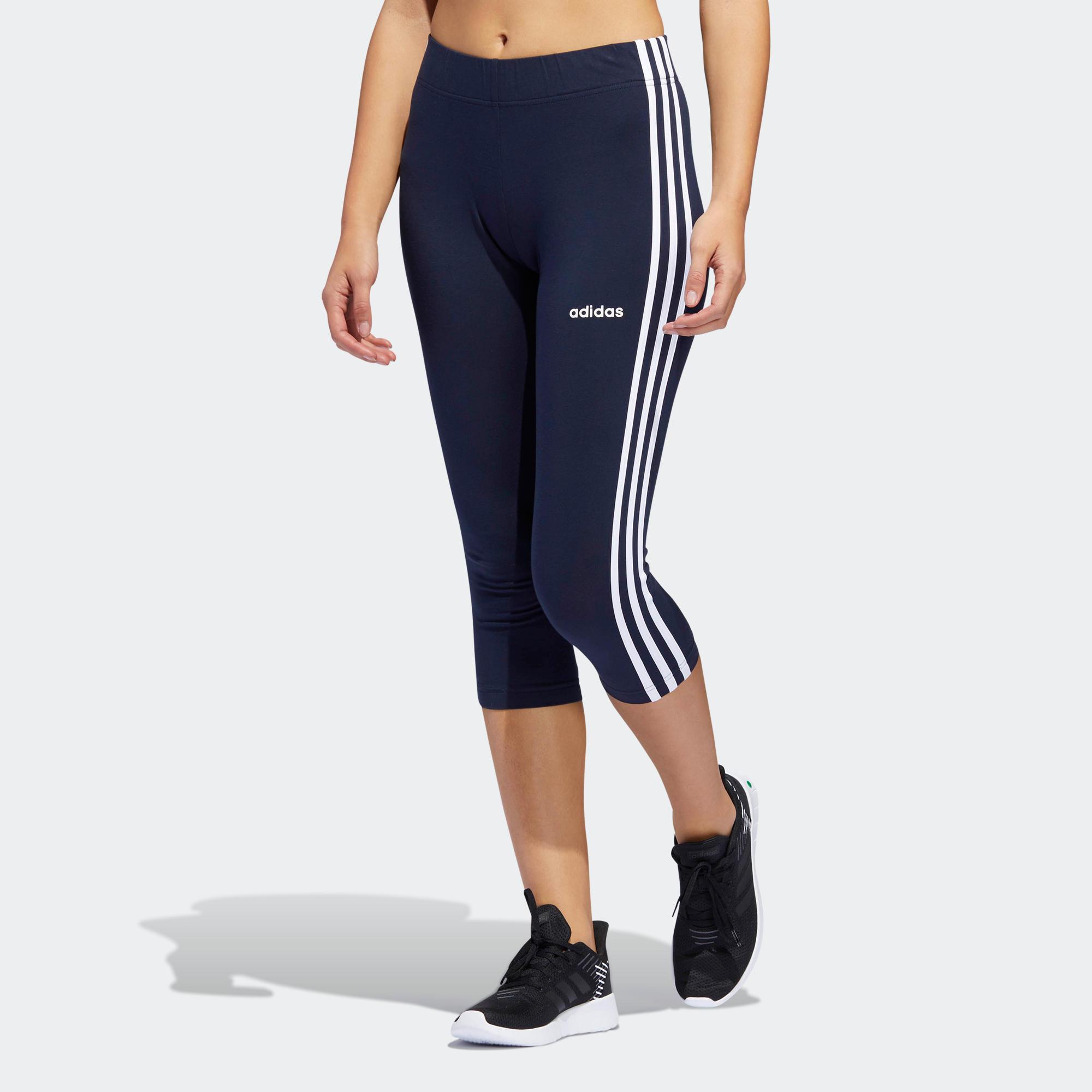 Colanți Adidas bleumarin Damă imagine