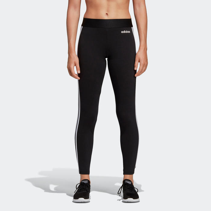 Leggings Adidas 3 franjas Slim mujer negro
