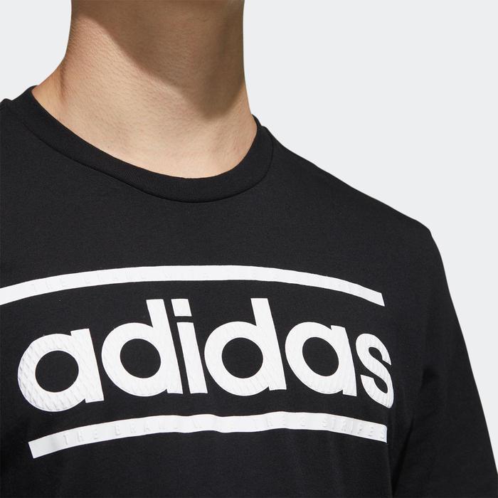 T-Shirt Adidas Homme Noir Imprimé