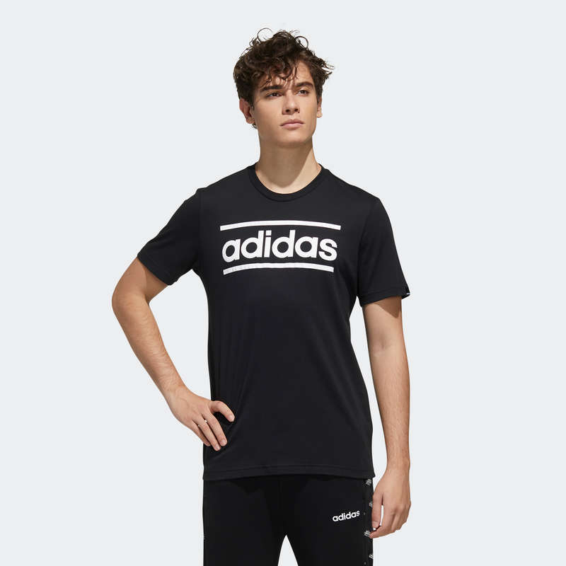 ÎMBRĂCĂMINTE TONIFIERE, PILATES BĂRBAȚI Descopera Produsele Reduse - Tricou Adidas LOGO bărbați ADIDAS - COPII