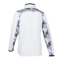 男童輕盈透氣健身外套W500 - 白色