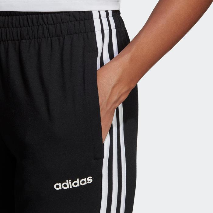Sportbroek voor dames 3-stripes zwart