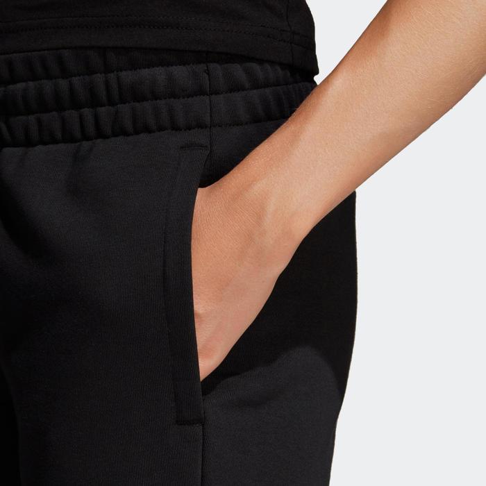 Sportbroek voor dames zwart/wit