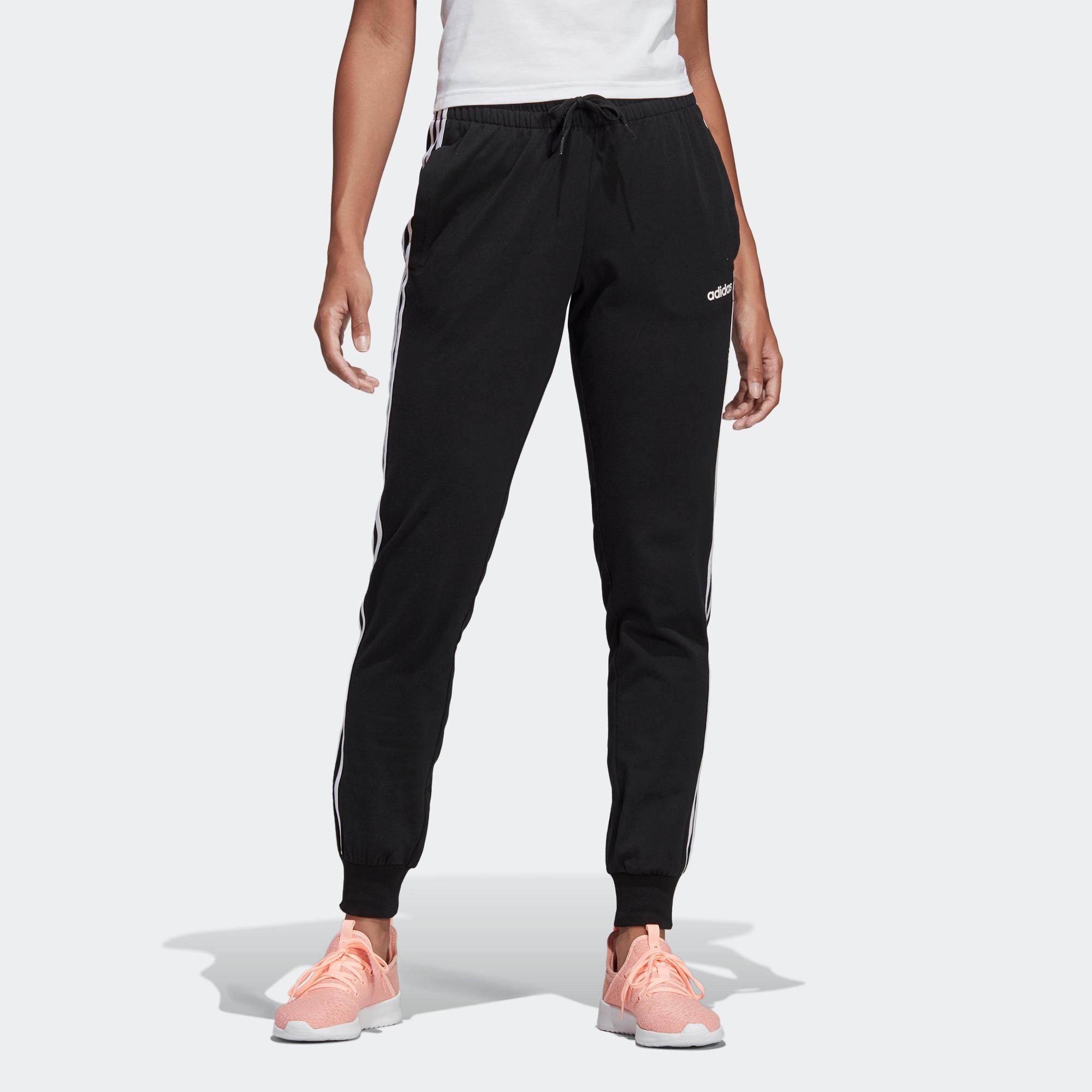 Damen Jogginghose in schwarz//schwarz