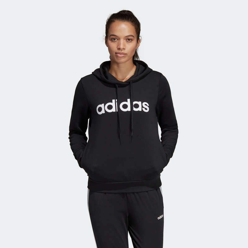 WOMAN PANT JACKET SWEAT Clothing - Hoodie - Black SS2020 ADIDAS - Tops