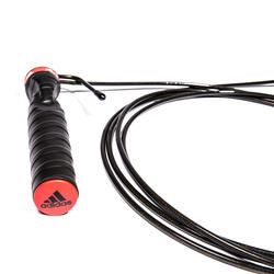 Springtouw Training Adidas zwart - 180334
