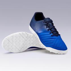 Voetbalschoenen voor volwassenen Agility 140 HG hard terrein blauw