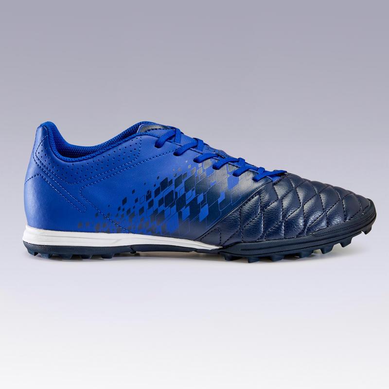 Adult Hard Ground Football Boots Agility 500 - Dark Blue