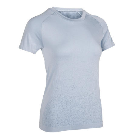 T-Shirt Yoga Slim Wanita - Lavender