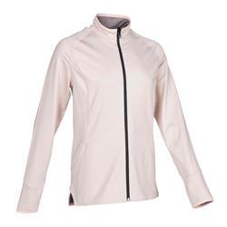 雙面動態瑜珈外套 - 灰色/粉色