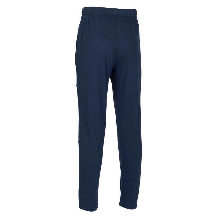 Boys' Light Gym Bottoms 100 - Plain Navy Blue