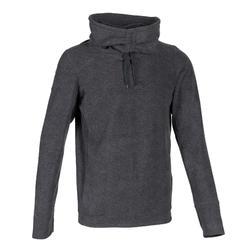 Men's Fleece Yoga Sweatshirt - Grey