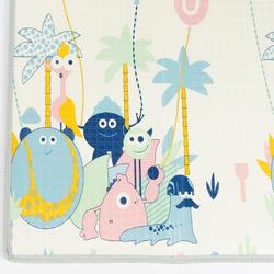Foldable mat for baby gym (1-6 years old).