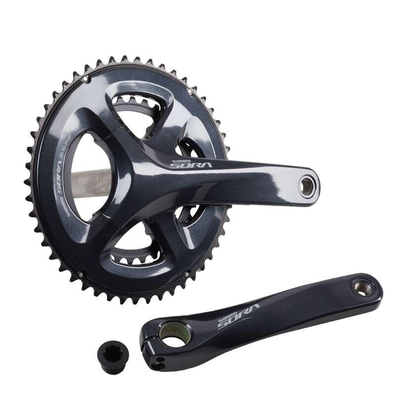 GEARING ROAD Cycling - Crank Set 50/34 Sora WORKSHOP - Bike Brakes and Transmission