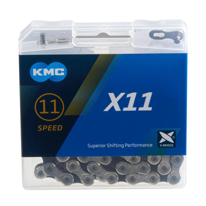 CHAINE 11V KMC ARGENT